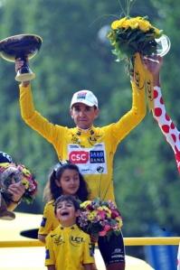 2008 TdF Champion - Carlos Sastre